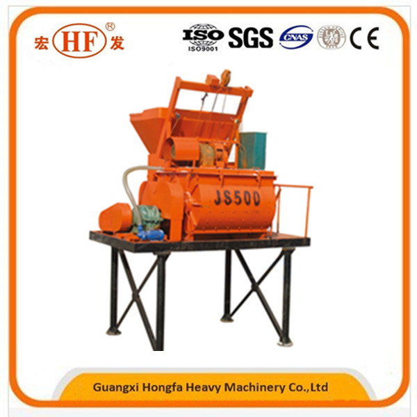 Construction Small Concrete Mixing Machine Js500 Concrete Mixer for Sale