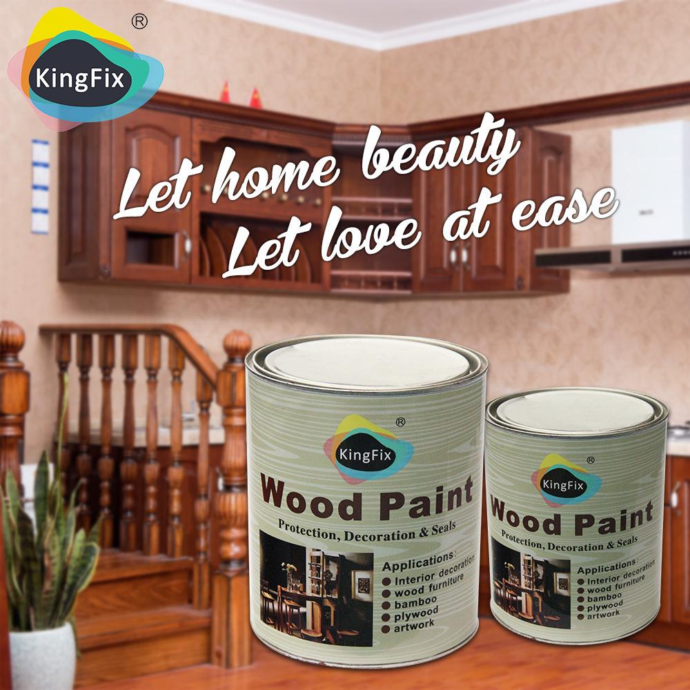 Kingfix Brand Easy Sanding Nc Furniture Paint White Primer
