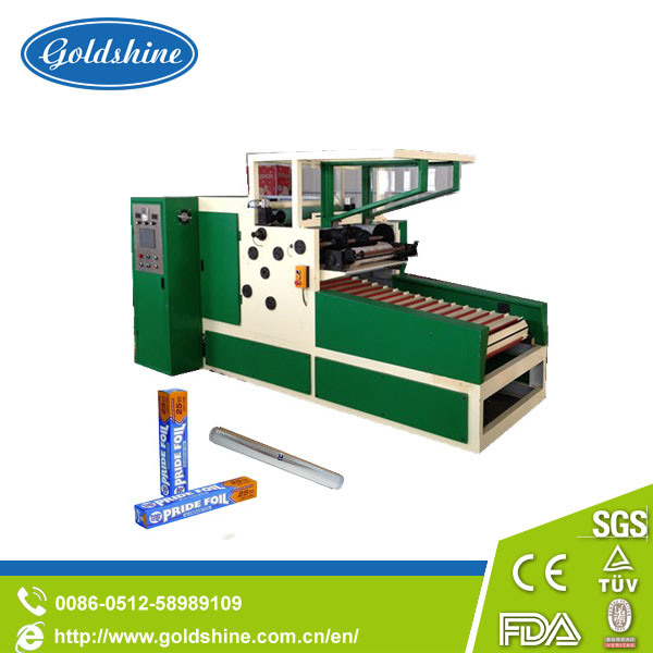 Aluminum Foil Cutting Rewinding Machine (GS-AF 600)