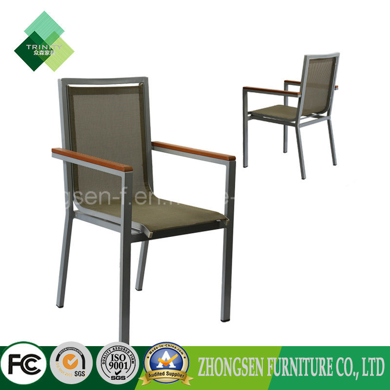 Janpanese Style Used Furniture Armchair Metal Chair for Restaurant (ZSC-74)