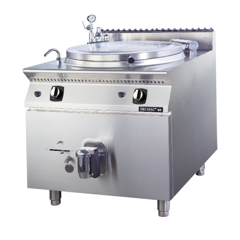 Hecmac Commercial Boiling Pans (FG9XH10YN) -LPG