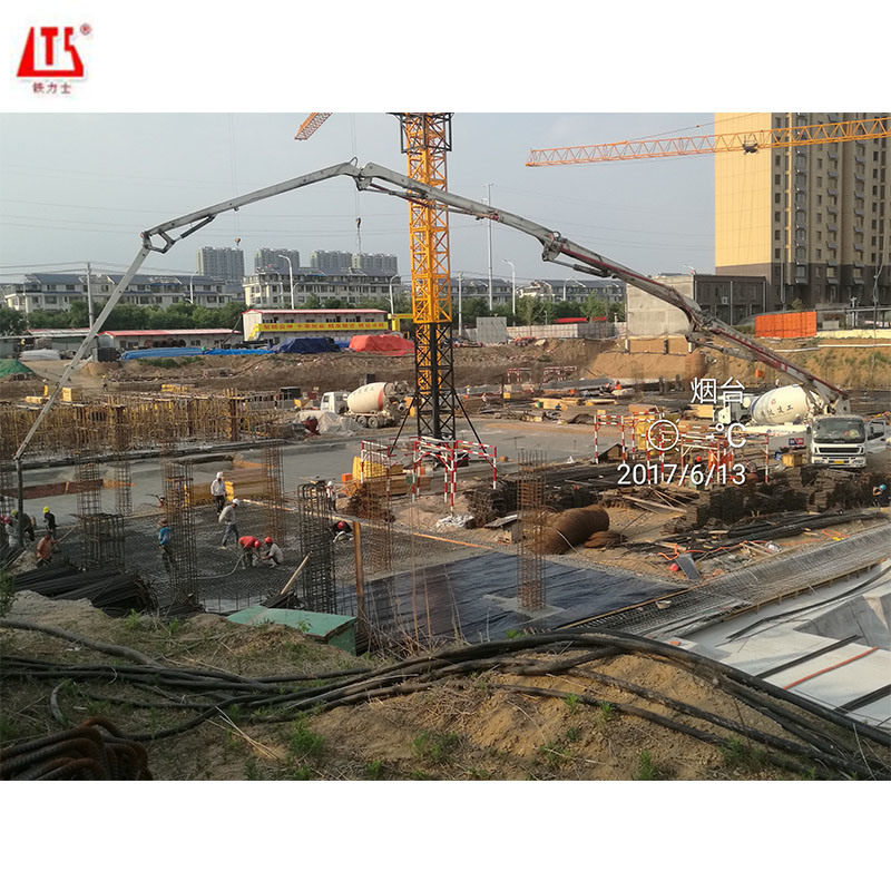 Hongda Brand 52m Truck Mounted Concrete ...