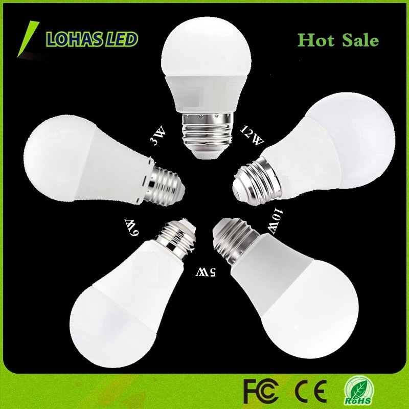 2018 China Supplier LED Bulb Light Ce RoHS Energy Saving LED Bulb Light High Power 3W 5W 6W 9W 12W 17W SMD2835 LED Bulb