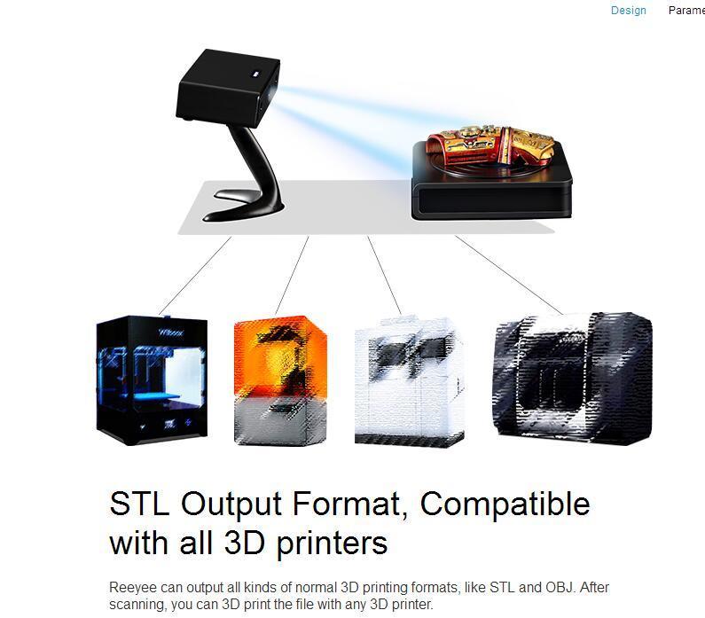 High Precision Best Price Desktop 3D Scanner in Industrial Grade