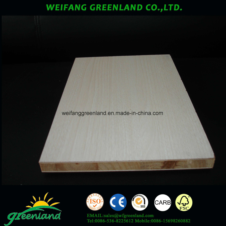 PVC Film Block Board 1220X2440mm Furniture Grade