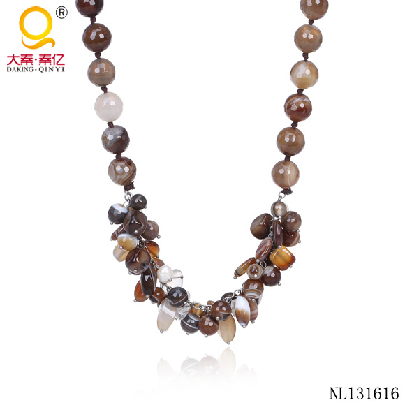 Latest Design Agate Necklace New Charm Jewellery
