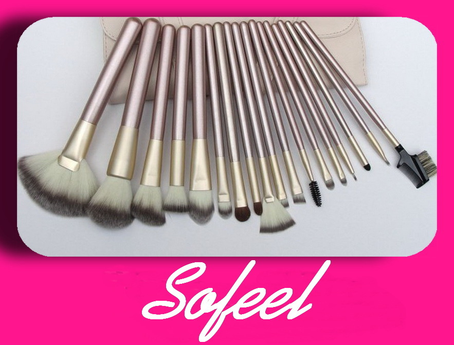 High Quality Professional Synthetic Cosmetic Brush Sets with Nylon Hair (PS30501)