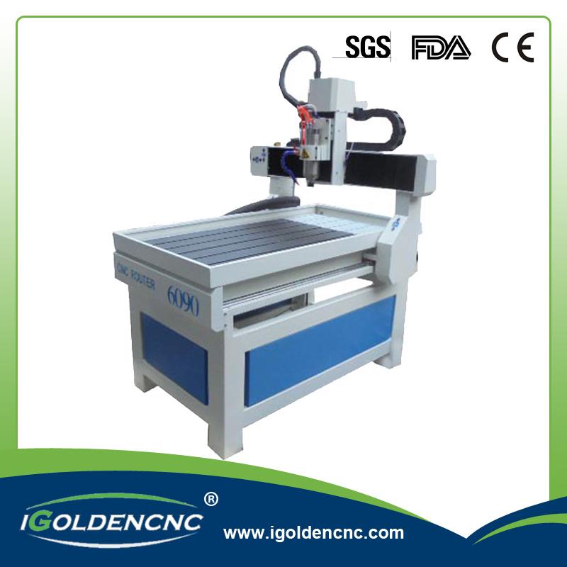 Mini Engraving Machine 6090 4 Axis CNC Router