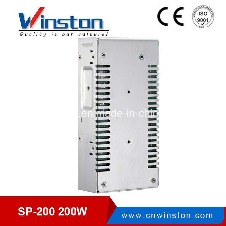 Sp-200 200W 12VDC 24VDC Pfc Function Single Output Power Supply