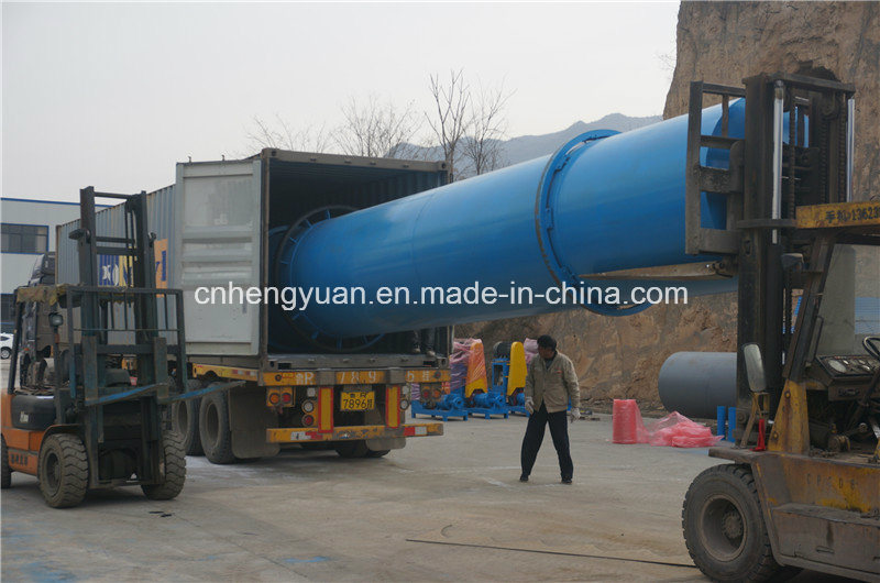 High Capacity Wood Chips Sawdust Rotary Dryer