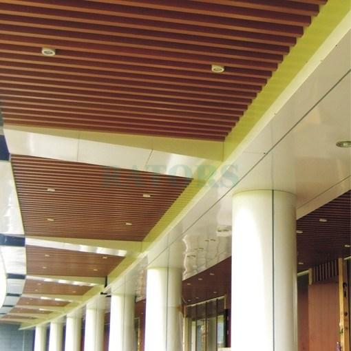 China Cell Corridor Ceiling Aluminium Ceiling Baffles