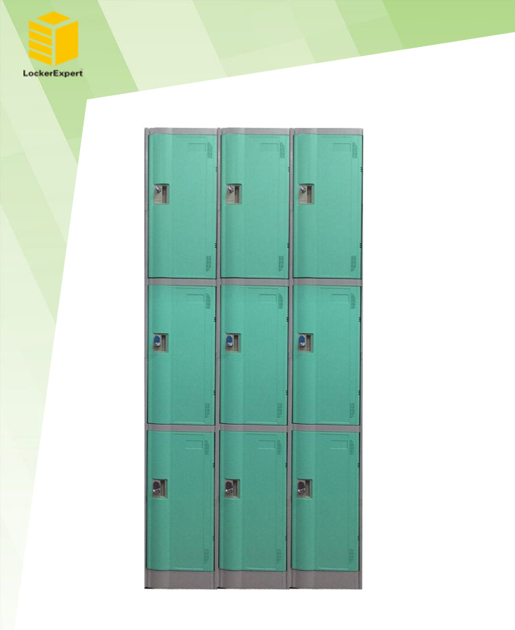 ABS Plastic Waterproof Storage Locker Le32-3