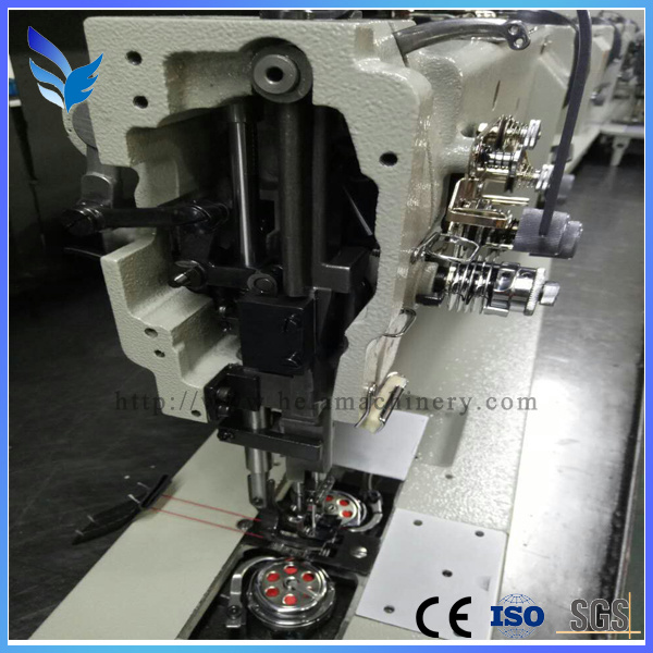 Single Needle Zigzag Embroidery Sewing Machine for Textiles Lz-271