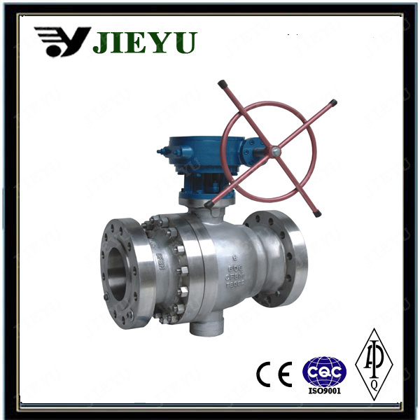 Stainless Steel Trunnion Mounted Flange Ball Valve