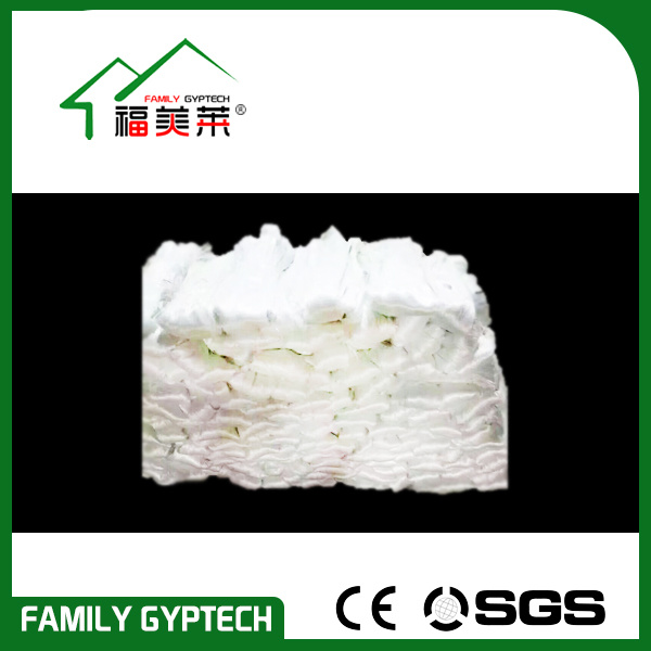 Non-Alkali E-Glass Glassfiber for Making Gypsum Cornice