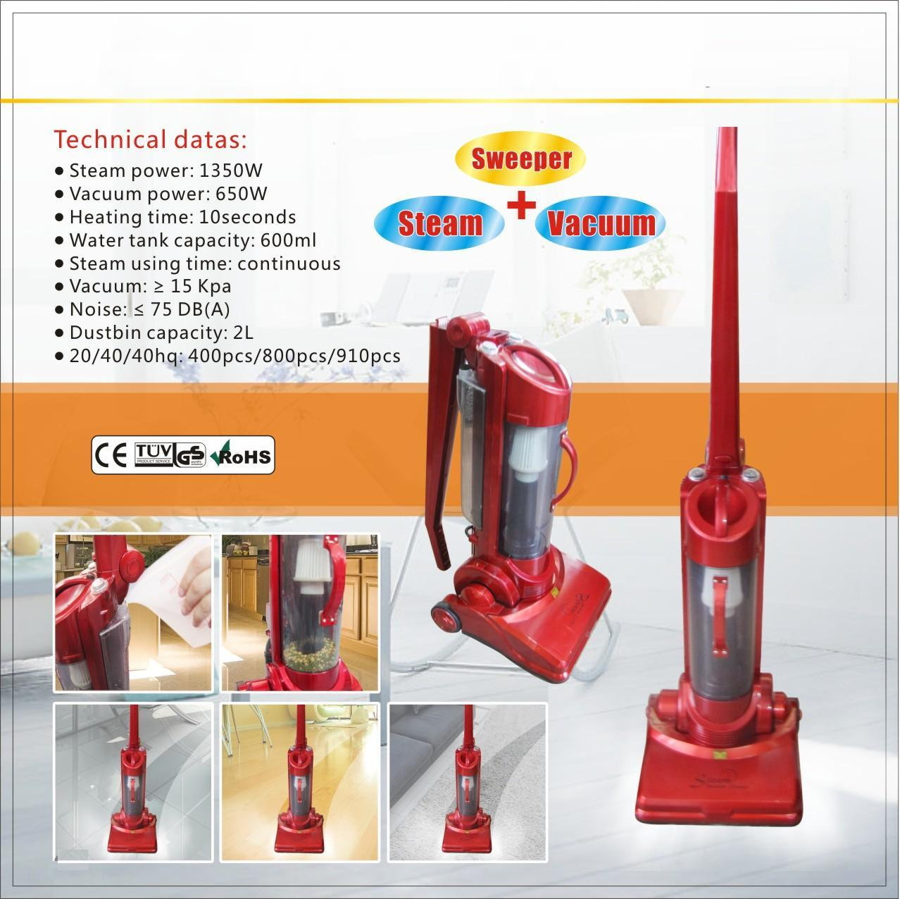 Upright Steam Vacuum Cleaner (USVC0716)