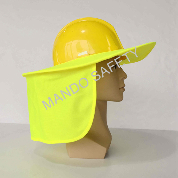Hi-Viz Sun Brim Used on Helmet