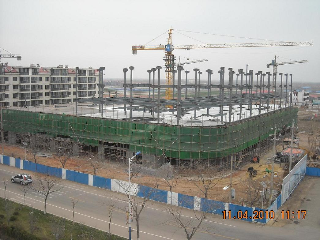 Low Cost Steel Structure/Steel Building for Africa