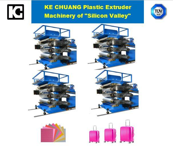 Professional Sheet Plastic Exdruding Machine for Luagge