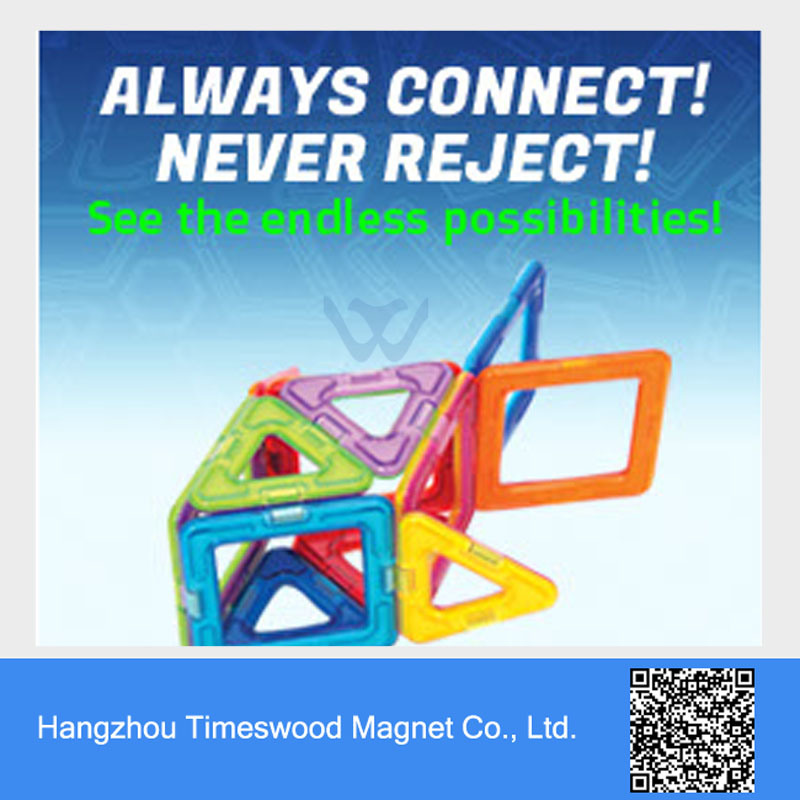 Magnetic Toys Magplayer Construction Set with Good Quality