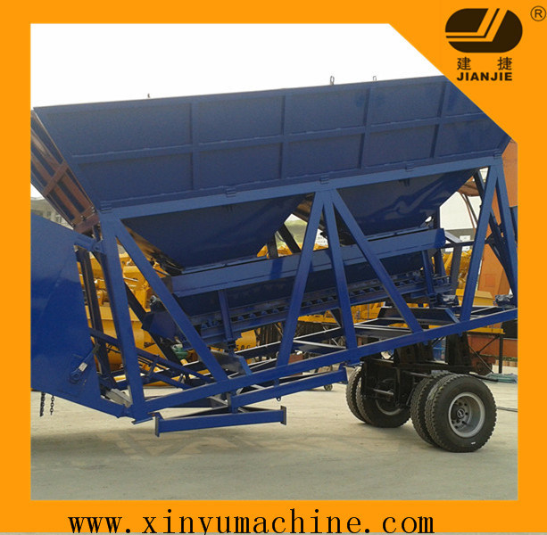 Mobile Concrete Batching Plant 60 M³ /H (YHZS60)