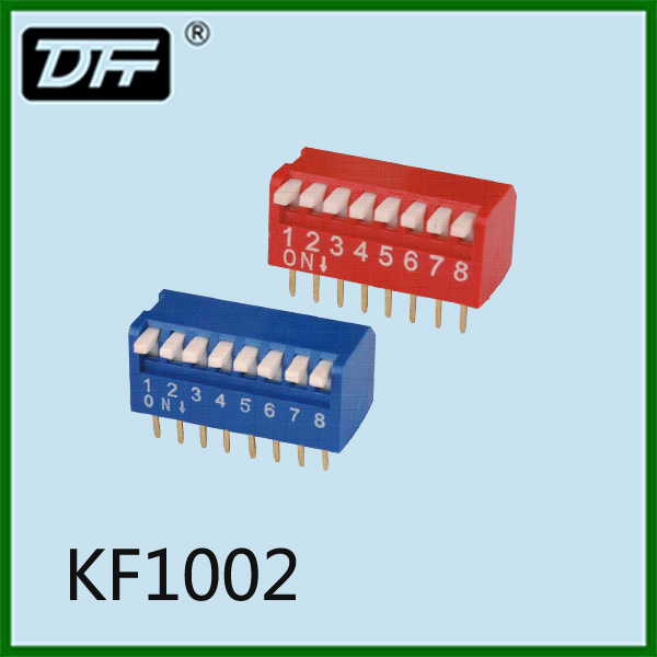 Popular PCB DIP Switch Tact Switch 2.54mm Choosing Poles