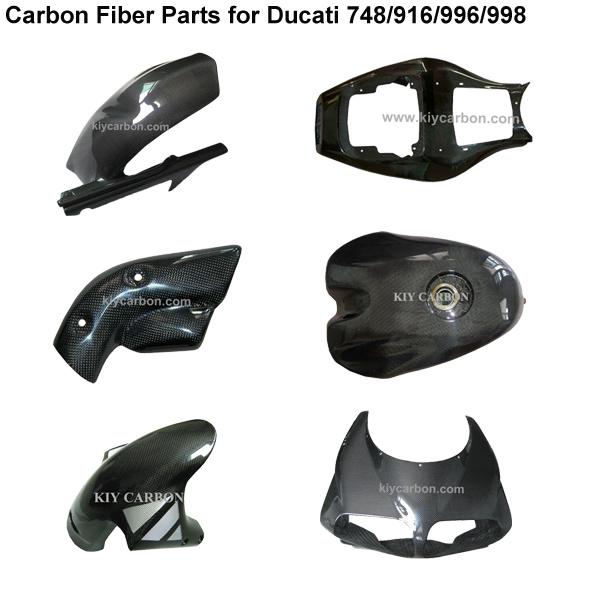Carbon Fiber Motorcycle Body Kit for Ducati 748/916/996/998