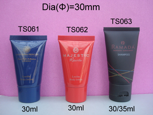 Hotel Amenities in Soft Tube (shampoo, bath gel, body lotion...)