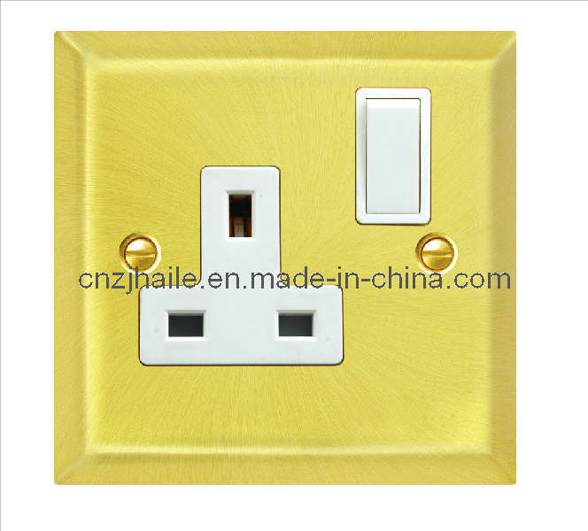 British Standard 13AMP 1 Gang Switched Socket Outlets