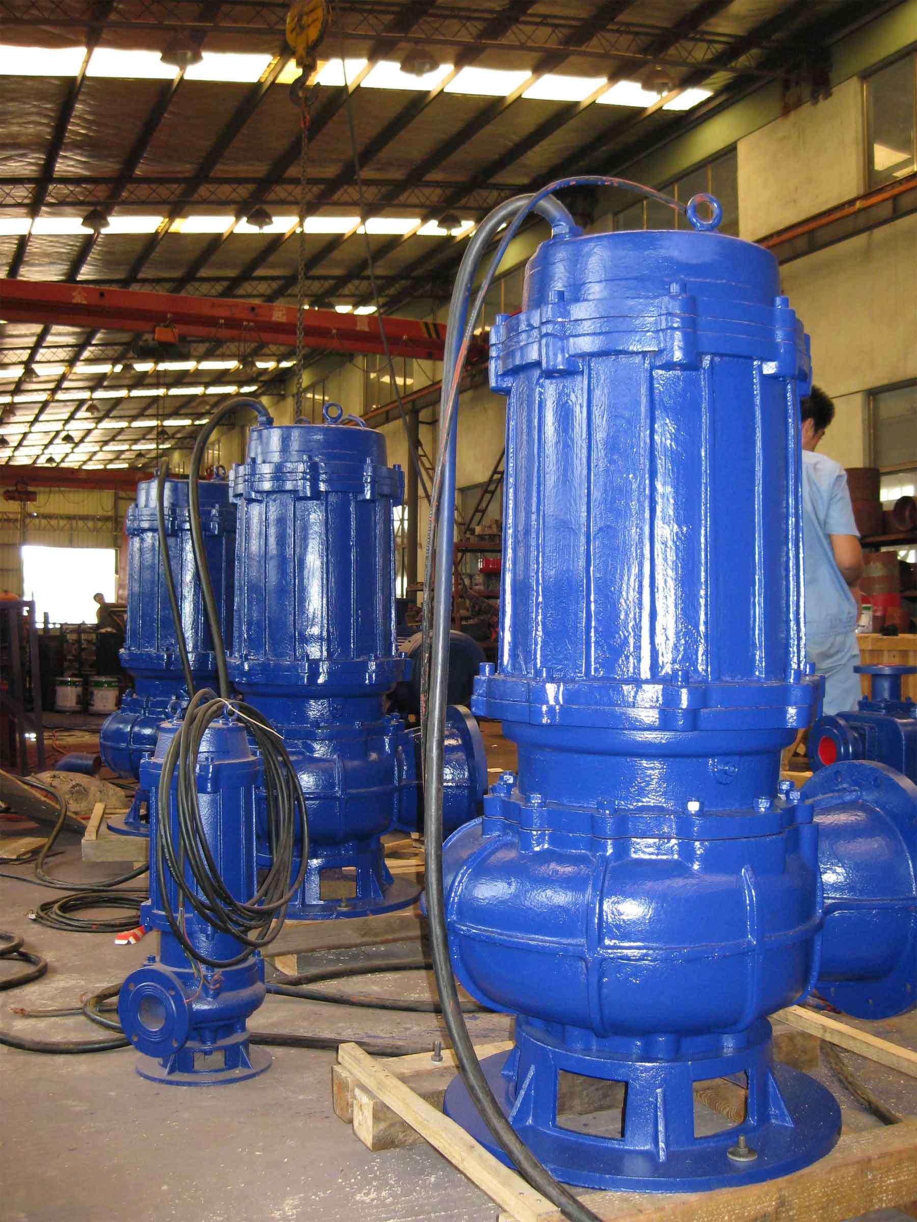 Non-Clog Waste Water Centrifugal Submersible Sewage Pump (WQ)
