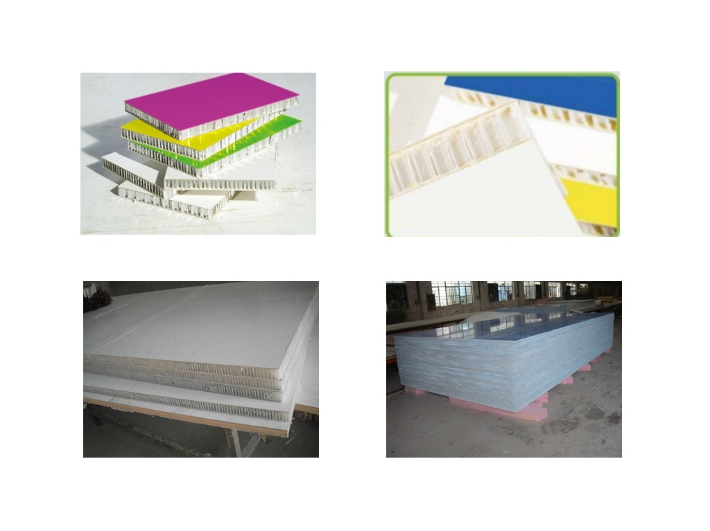 FRP with Honeycomb Sandwich Panel