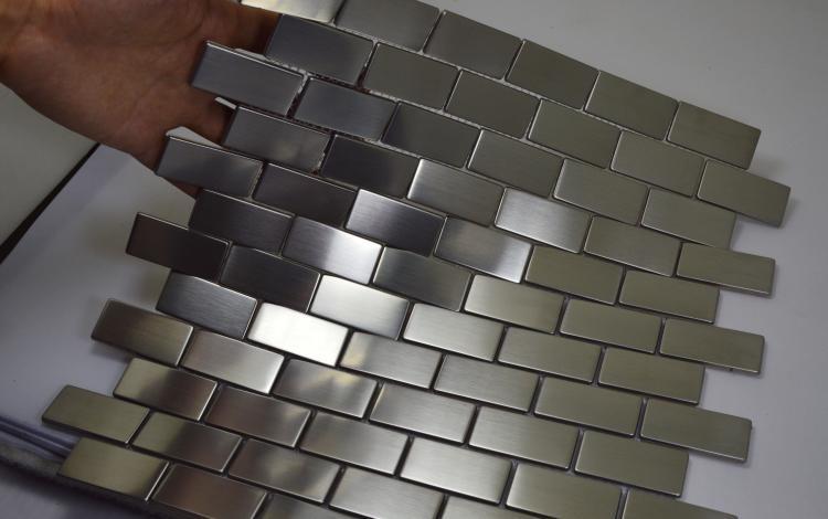 China Gold Mirror Mosaic Tile Kitchen Ceiling Metal Mosaic