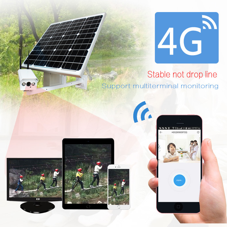 1080P Outdoor Bullet WiFi IP Camera Wireless 3G 4G SIM Card
