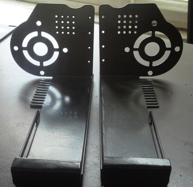 Powder Coating Sheet Metal CNC Punching Fabrication