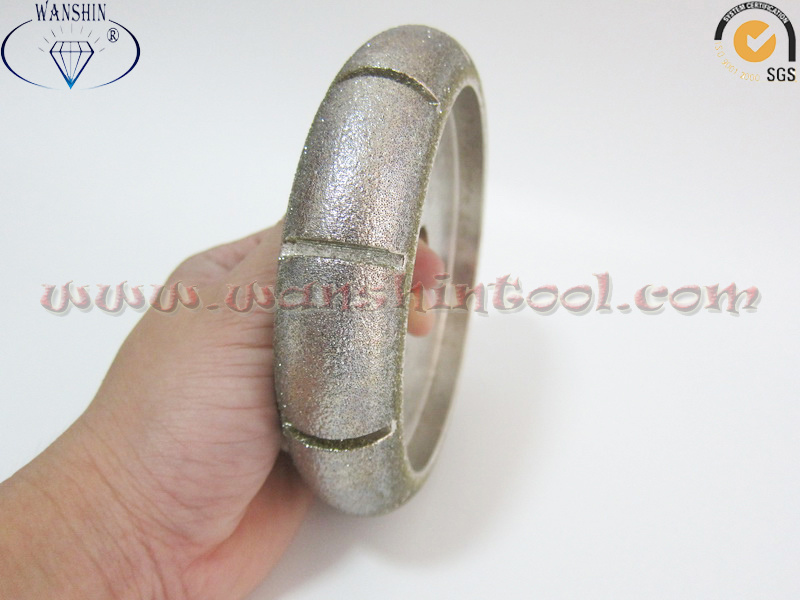 China Electroplated Profiling Wheel Premium Quality