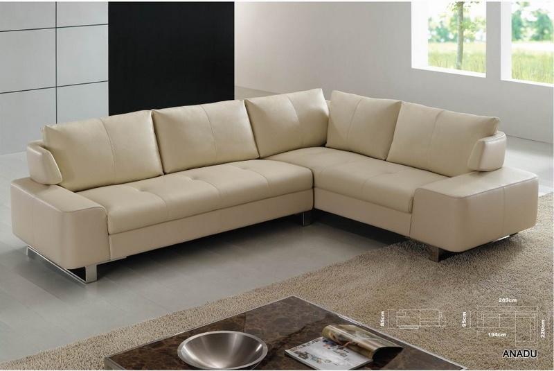 China L Shape Leather Sofa Corner Sofa Al079 Photos