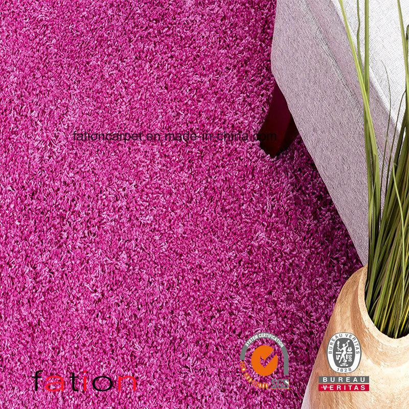 Shag Rug Living Room & Bedroom Solid Lilac 5*8 Area Rug Shaggy Carpet