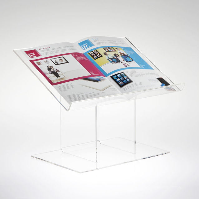 Acrylic Desktop Lectern Use in Churches Libraries