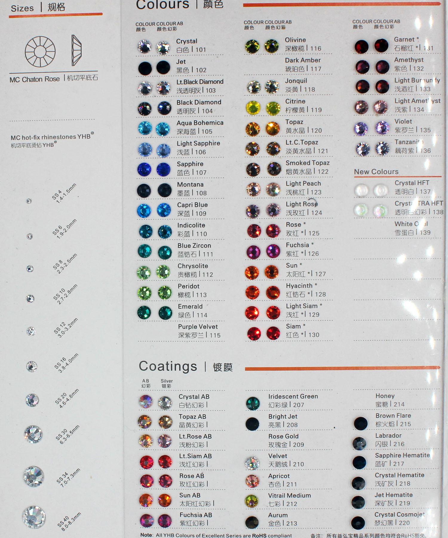 Flatback Nail Rhinestones for Nails Decoration