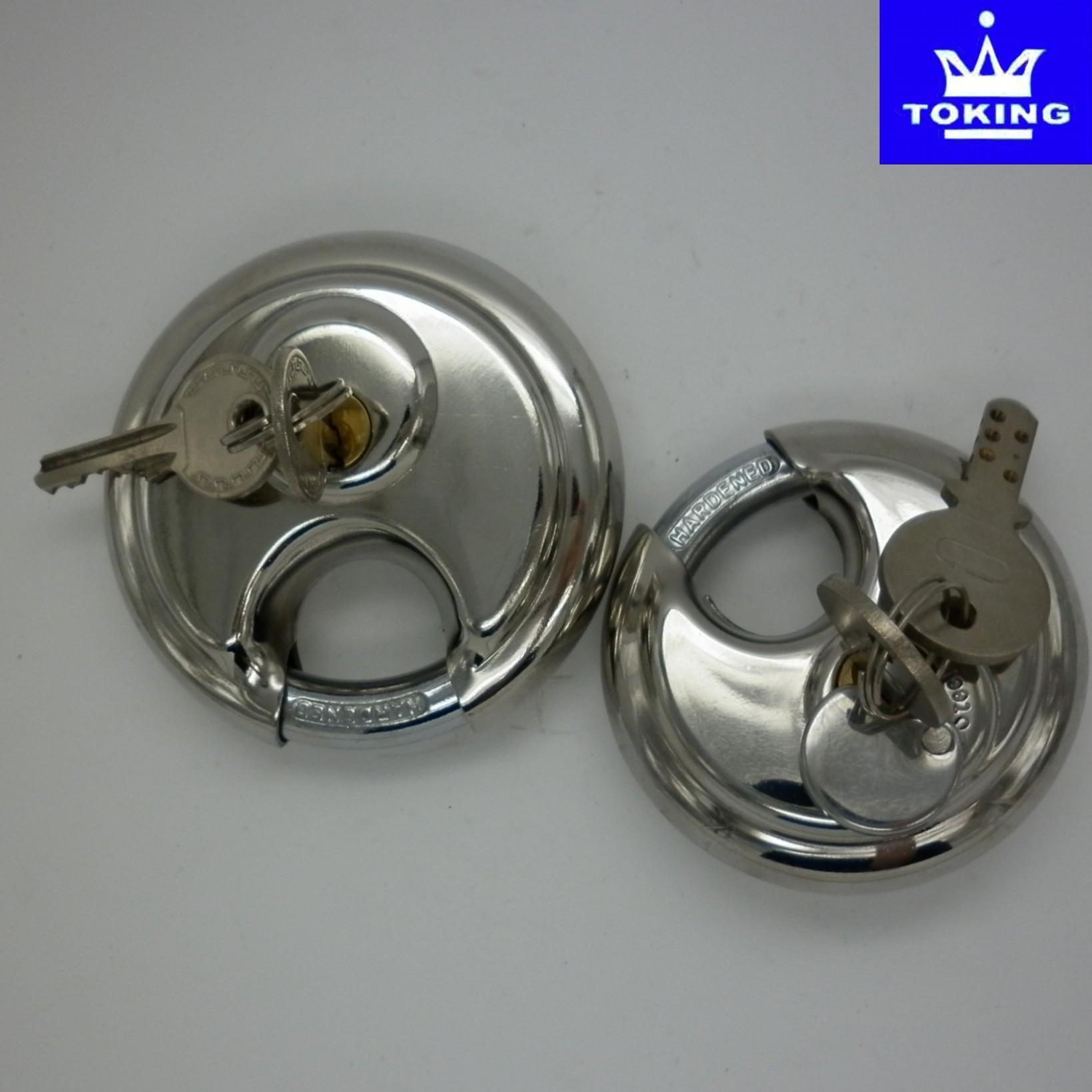 Stainless Steel Diseel Disc Padlock (SS3045)
