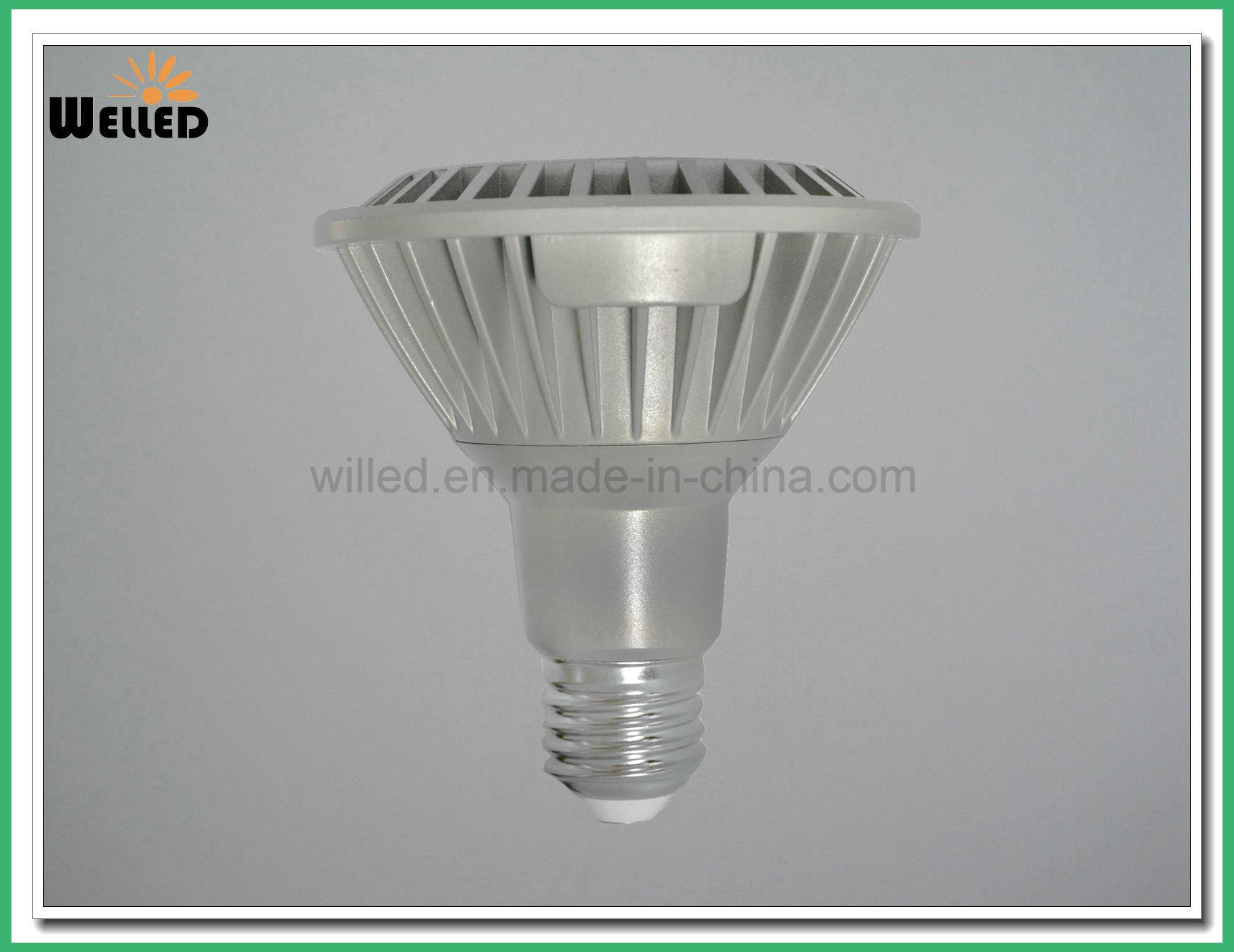 13W LED PAR30 Spot Light E27 with Aluminum and High Brightness Bulb Lamp