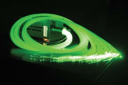 End Glow Plastic Optical Fiber for Decorative Lighting