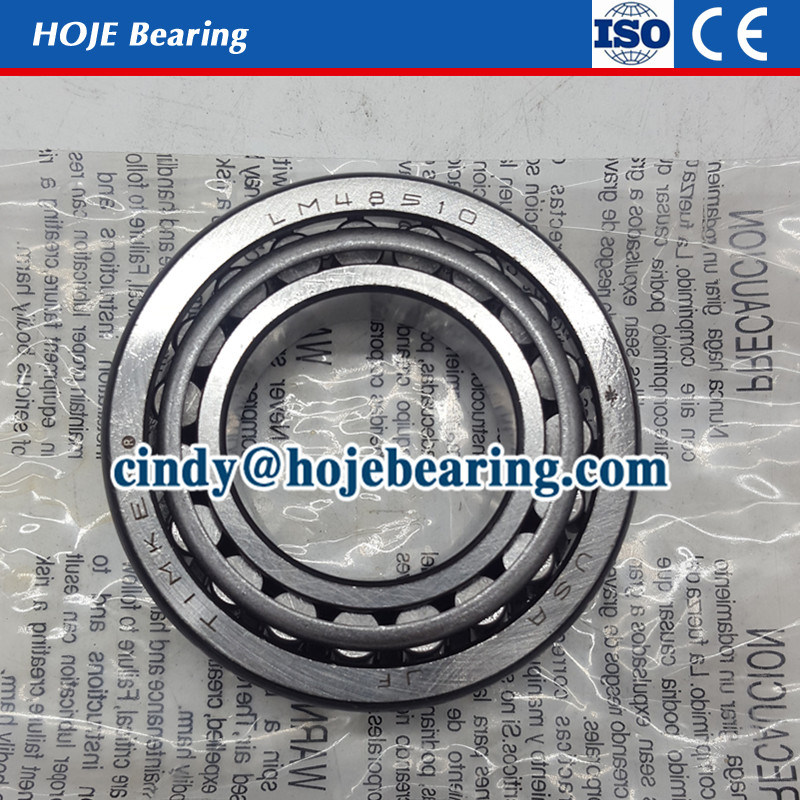 Inch Size Auto Truck Taper Roller Bearing Lm 48548/48510