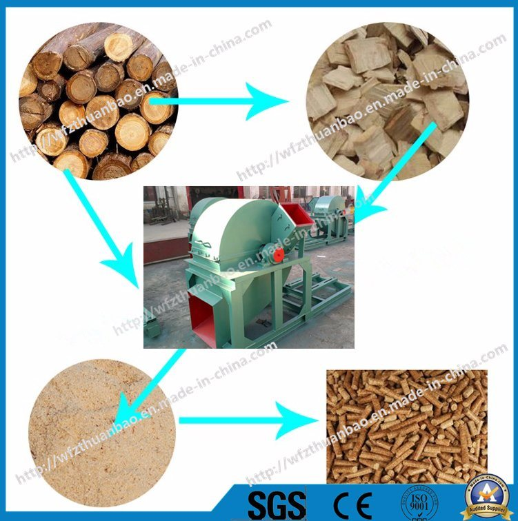 Wood Chipper /Wood Grinder /Wood Crusher Multifuction Wood Machine