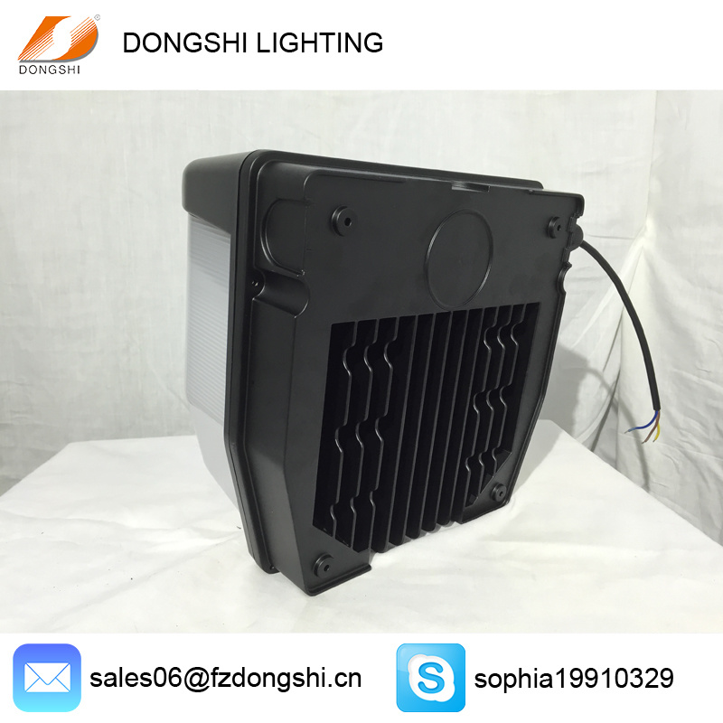 Meanwell Driver IP65 PC 50W Outdoor LED Wall Pack Light