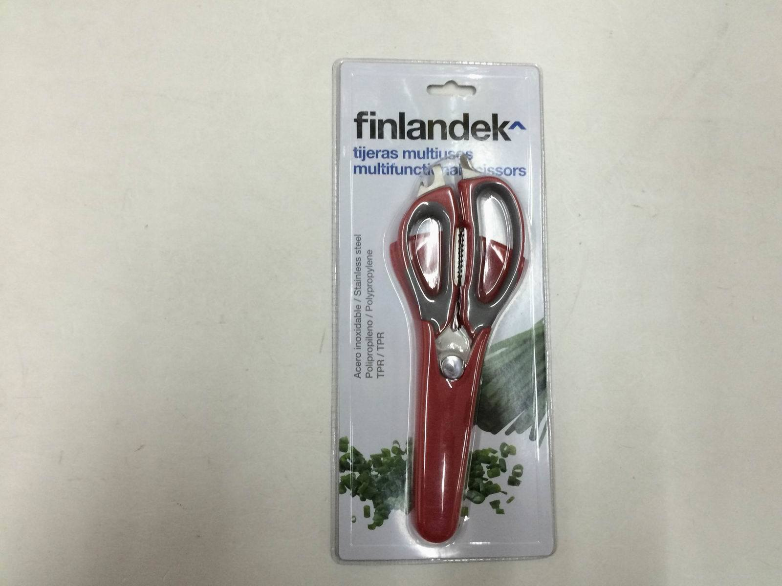 TPR Handle Magnetic Kitchen Scissor