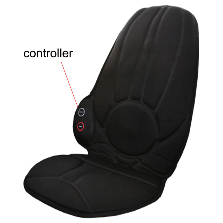Electric Vibration Heat Car Seat Back Pain Massage Machine