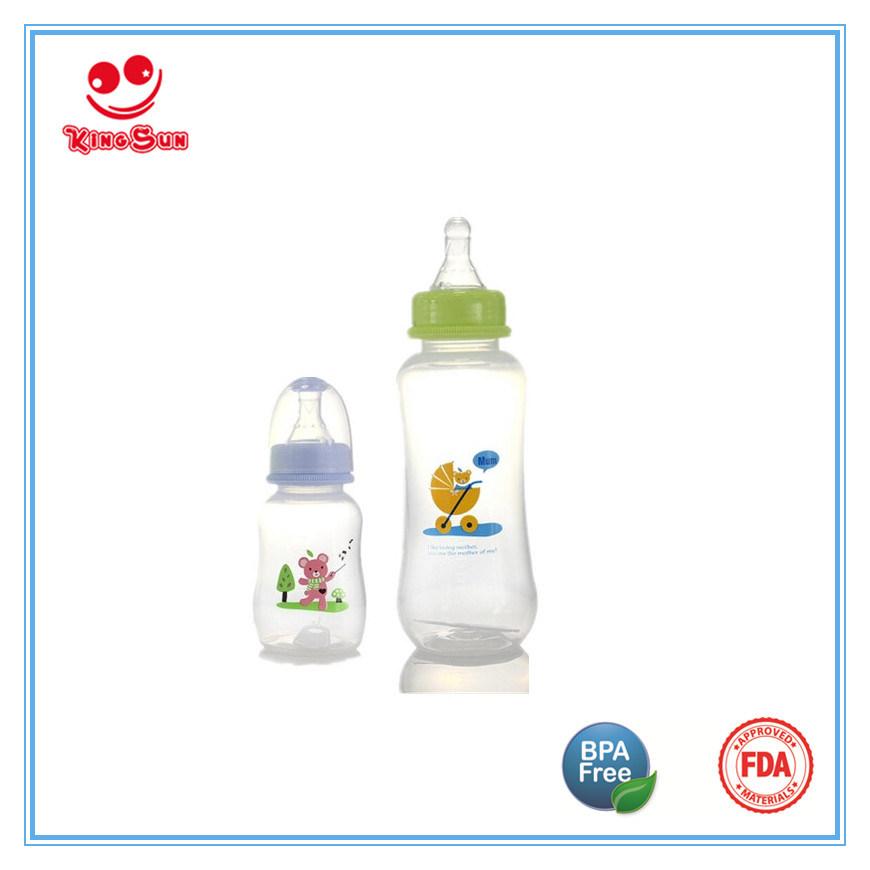 Normal Neck BPA Free PP Baby Bottles in 2oz/4oz/8oz