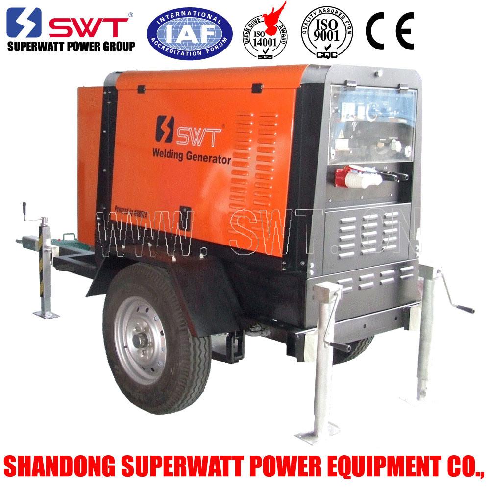 7-16kw 50Hz Portable Multi-Function Welding Generator Set
