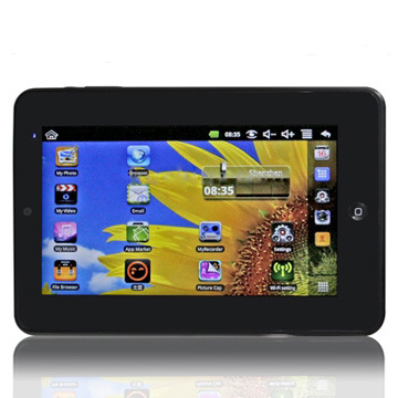 Inch Touch Screen Android 2.3 Apad Style Tablet PC with WiFi, 0 Image